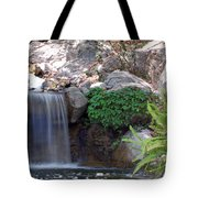 Gentle Waterfall Tote Bag