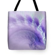 Gentle Wave Of Purple Tote Bag