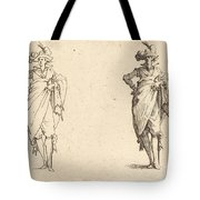 Gentleman Viewed From The Front With Hand On Hip Tote Bag