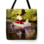 Gently Down The Stream Tote Bag