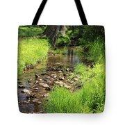 Gently Flowing Brook Tote Bag