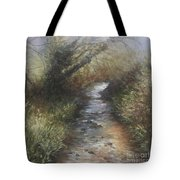 Gently Flowing Tote Bag