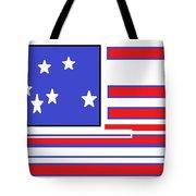 Geo Flag Tote Bag