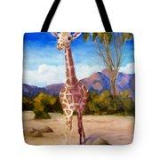 Geoffrey Giraffe Tote Bag