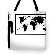 Geography Teacher. Tote Bag