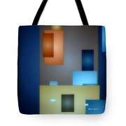 Geometric Abstract 0790  Tote Bag