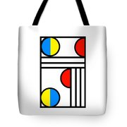 Geometric Art 429 Tote Bag