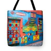 Geometric Art In Burano Tote Bag