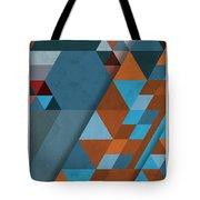 Geometric Beginnings Tote Bag