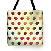 Geometric Dots Tote Bag