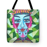 Geometric King Tote Bag