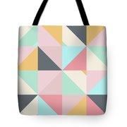 Geometric Pattern Xv Tote Bag