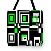 Geometric Pizazz 4 Tote Bag