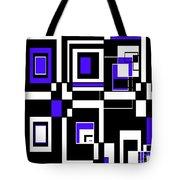 Geometric Pizazz 5 Tote Bag