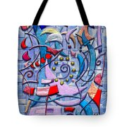Geometric Wizardry Tote Bag