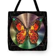Geometron Fyr Lepidoptera Tote Bag