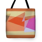 Geometry Shapes And Colors 6 Tote Bag