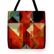 Geomix-04 - 39c3at22g Tote Bag by Variance Collections