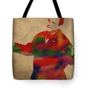 George Constanza Of Seinfeld Watercolor Portrait Tote Bag