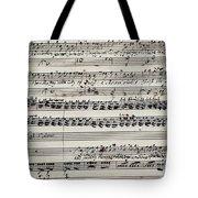 George Frederick Handel Tote Bag