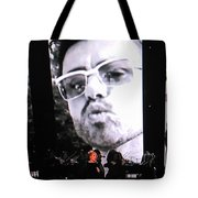 George Michael Sends A Kiss Tote Bag