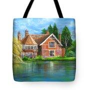 George Michaels Estate In Goring,england Tote Bag