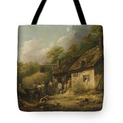 George Morland  The Bell Inn Tote Bag