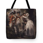 George Morland   The Deserters Farewell Tote Bag