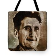 George Orwell Author Tote Bag