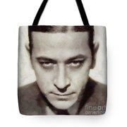 George Raft, Vintage Actor Tote Bag