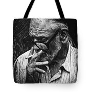 George Romero Tote Bag
