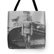 George S. Patton During World War One  Tote Bag
