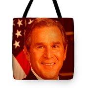 George W Bus Tote Bag