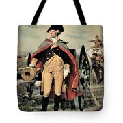 George Washington At Dorchester Heights Tote Bag