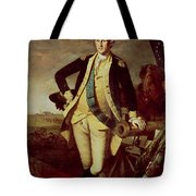 George Washington At Princeton Tote Bag by Charles Willson Peale
