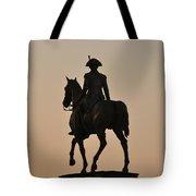 George Washington At Sunrise Tote Bag
