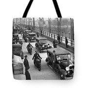 George Washington Bridge Open Tote Bag