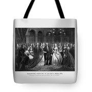 George Washington's Reception At White House - 1776  Tote Bag