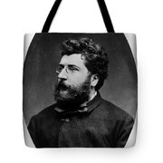 Georges Bizet, French Composer Tote Bag