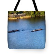 Georgetown Crew On The Potomac? Tote Bag