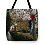 Georgetown Law Holiday Tote Bag