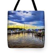 Georgetown Yacht Basin Tote Bag