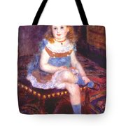 Georgette Charpentier Seated 1876 Tote Bag