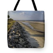 Georgia Atlantic Sea Barrier Tote Bag