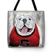 Georgia Bulldog Tote Bag