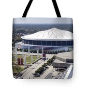 Georgia Dome In Atlanta Tote Bag