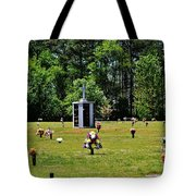 Georgia Memorial Gardens Tote Bag