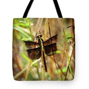 Georgia On My Mind Ray Charles Dragonfly Art Tote Bag