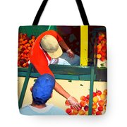 Georgia Peaches Tote Bag