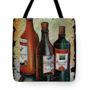 Georgian Wine Fresco Tote Bag